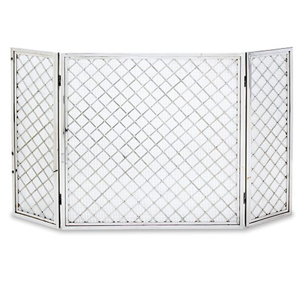 "Hartwick Three Panel Fireplace Screen - 50"" x 30"" image number 0"