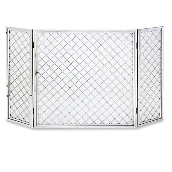 "Hartwick Three Panel Fireplace Screen - 50"" x 30"" image number 0"
