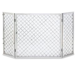 "Hartwick Three Panel Fireplace Screen - 50"" x 30"""