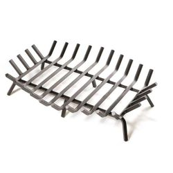 "36"" Stronghold Hex Shaped Outdoor Fire Pit Grate"