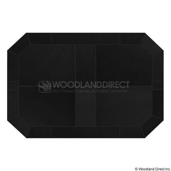Heritage Octagon Hearth Pad - Black Knight image number 0