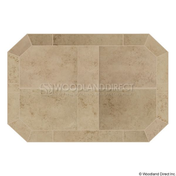 Heritage Octagon Hearth Pad - Cabo Carmel image number 0