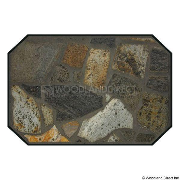 Heritage Octagon Hearth Pad - Idaho Mica Stone image number 0