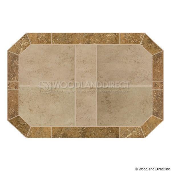 Heritage Octagon Hearth Pad - Spring Breeze image number 0