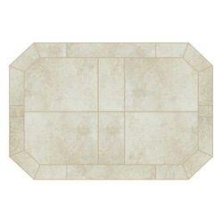 Heritage Octagon Hearth Pad - White Lava