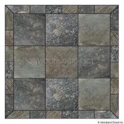 Heritage Square Wall Pad - Natural Silver Slate