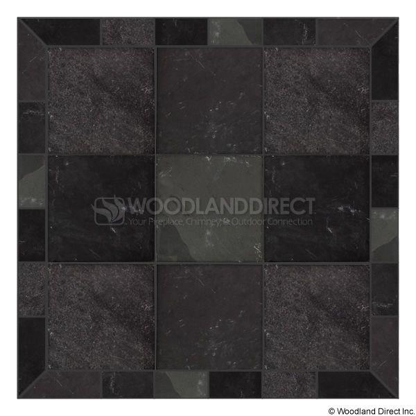 Heritage Square Wall Pad - Smoky Grey Slate image number 0