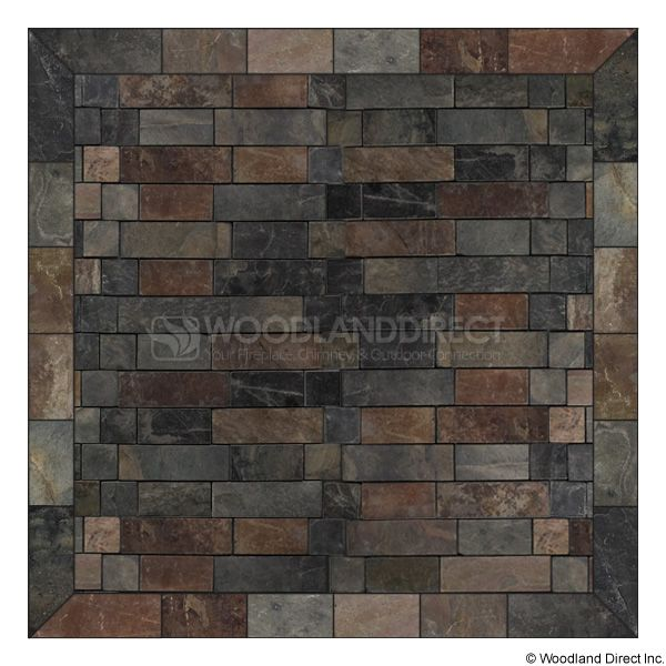 Heritage Square Wall Pad - Western Flagstone image number 0
