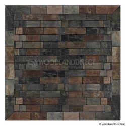 Heritage Square Wall Pad - Western Flagstone