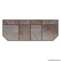 Heritage Standard Extension - Nat Bronze Slate