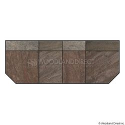 Heritage Standard Extension - Bronze Polished Slate
