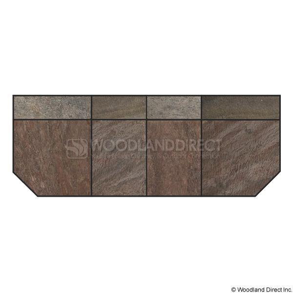 Heritage Standard Extension - Bronze Polished Slate image number 0