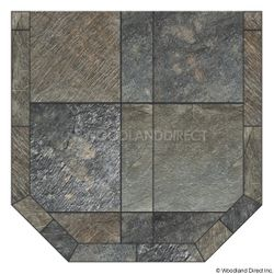 Heritage Standard Hearth Pad - Natural Silver Slate