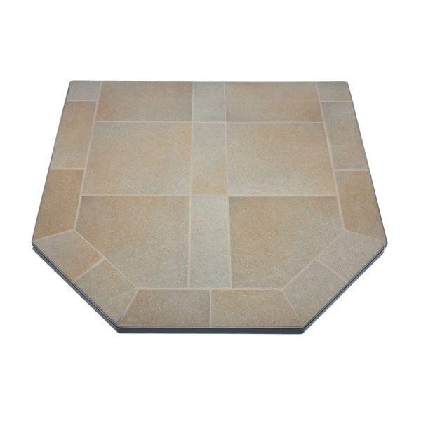 Heritage Standard Hearth Pad - Sand Stone image number 0