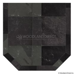 Heritage Standard Hearth Pad - Smoky Grey Slate