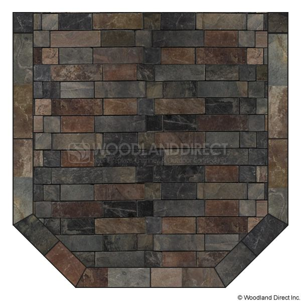 Heritage Standard Hearth Pad - Western Flagstone image number 0