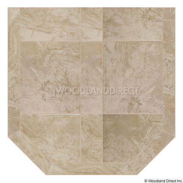 Heritage Standard Hearth Pad - White Lava image number 0