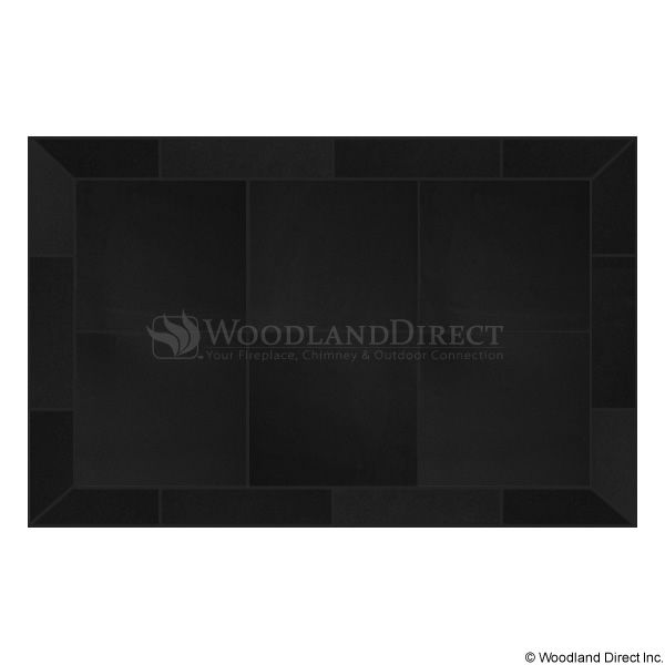 Heritage Rectangular Hearth Pad - Black Knight image number 0