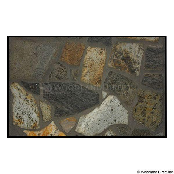 Heritage Rectangular Hearth Pad - Idaho Mica Stone image number 0