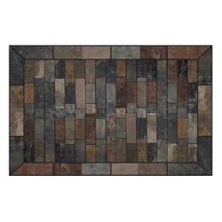 Heritage Rectangular Hearth Pad - Western Flagstone