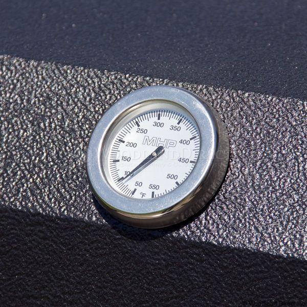 Heritage WHRG4DD Hybrid Gas Grill - Black Column Mount image number 6
