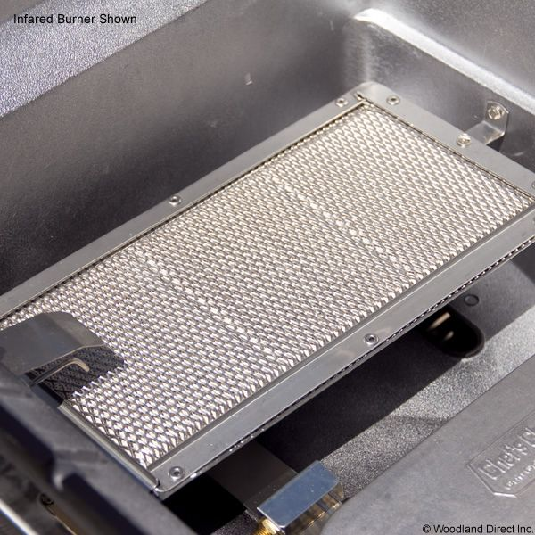 Heritage WHRG4DD Hybrid Gas Grill - Stainless Steel Column Mount image number 1