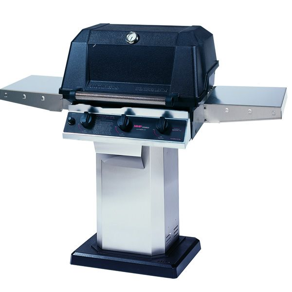 Heritage WHRG4DD Hybrid Gas Grill - Stainless Steel Column Mount image number 0