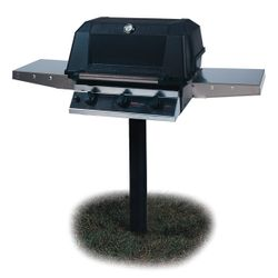 Heritage WHRG4DD In-Ground Post-Mount Hybrid Gas Grill