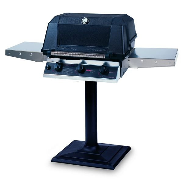 Heritage WHRG4DD Patio Post-Mount Hybrid Gas Grill image number 0