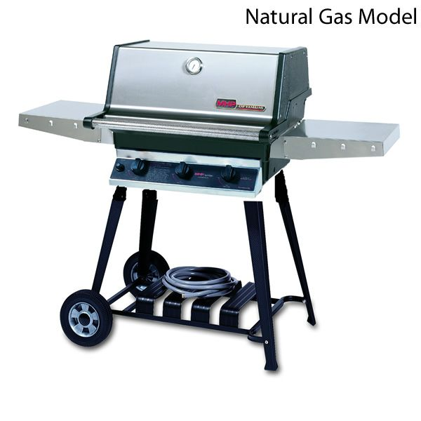 Heritage THRG2 Cart-Mount Hybrid Gas Grill image number 1
