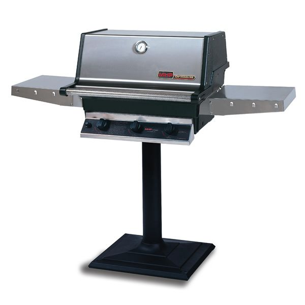 Heritage THRG2 Patio Post-Mount Hybrid Gas Grill image number 0