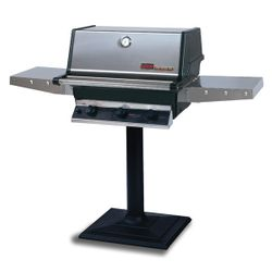 Heritage THRG2 Patio Post-Mount Hybrid Gas Grill