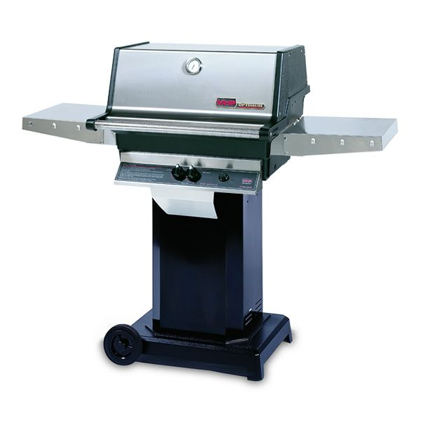 "Heritage TJK Gas Grill - Black Column 6"" Wheeled Cart image number 0"