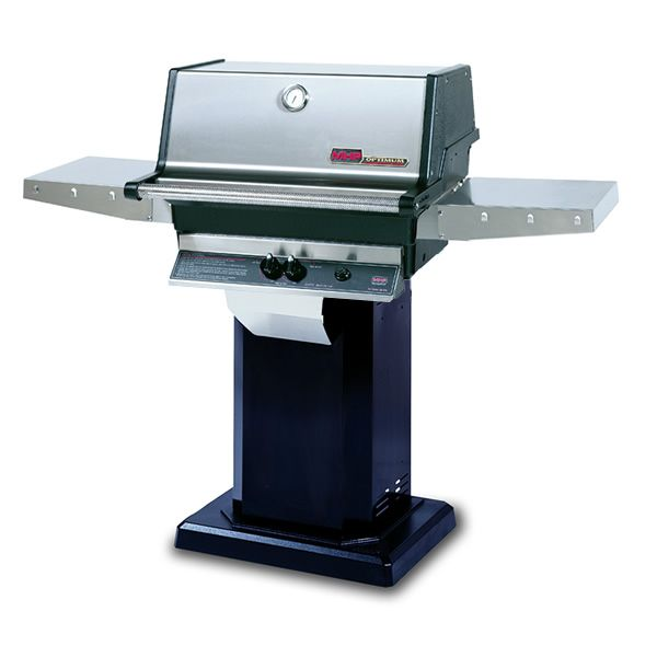 Heritage TJK Gas Grill - Black Column Mount image number 0