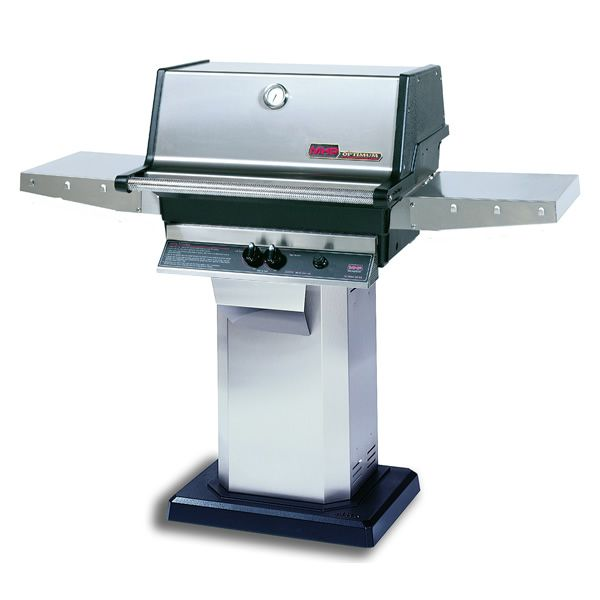 Heritage TJK Gas Grill - Stainless Steel Column Mount image number 0