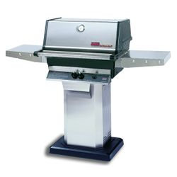 Heritage TJK Gas Grill - Stainless Steel Column Mount