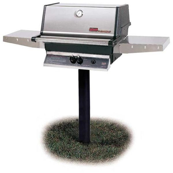Heritage TJK In-Ground Post-Mount Gas Grill image number 0