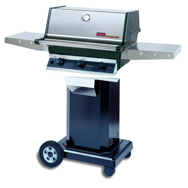 "Heritage TRG2 Gas Grill - Black Column 8"" Wheeled Cart image number 0"