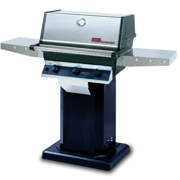 Heritage TRG2 Gas Grill - Black Column Mount image number 0