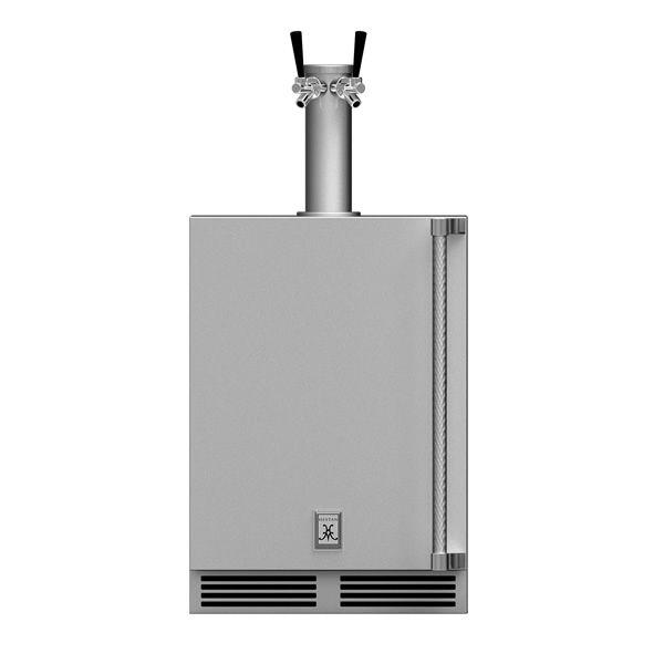 Hestan GFDSL242 Outdoor Double Beer Dispenser - Left image number 0