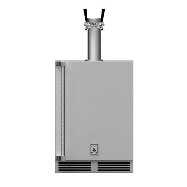 Hestan GFDSR242 Outdoor Double Beer Dispenser - Right image number 0