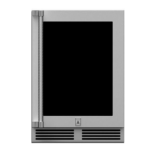 Hestan GRWGR24 Dual Zone Glass D Refrigerator - Right Hinged image number 0