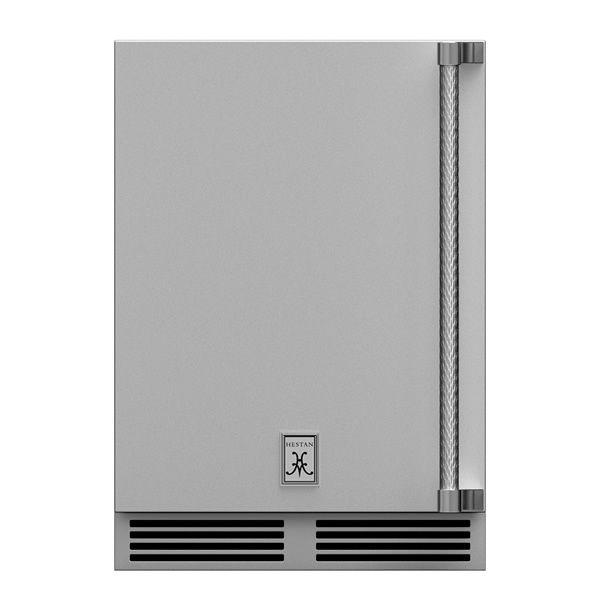 Hestan GRWSL24 Dual Zone Solid D Refrigerator - Left Hinged image number 0