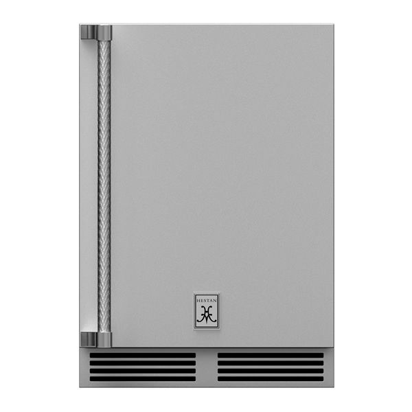 Hestan GRWSR24 Dual Zone Solid D Refrigerator - Right Hinged image number 0
