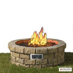 """Hudson DIY Gas Fire Pit Kit - 46"""""""