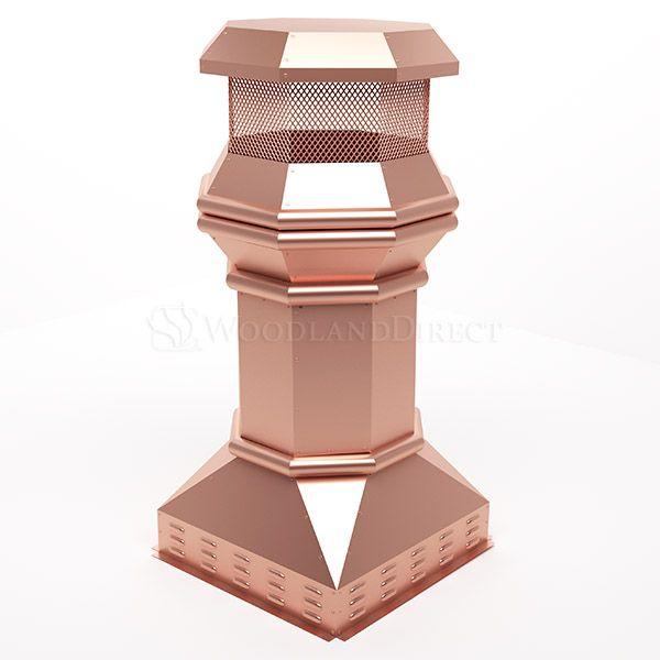 Imperial Copper Chimney Pot image number 0