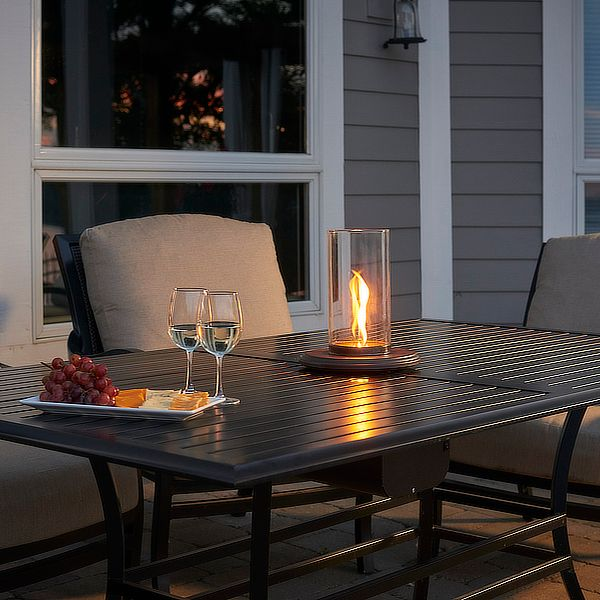 Intrigue Table Top Outdoor Propane Lantern image number 3