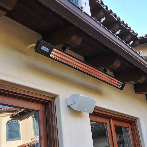 "Infratech 1600 Watt Slim Line Commercial Patio Heater - 29 1/2"" image number 3"