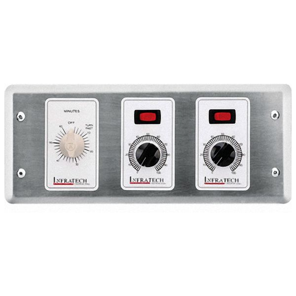 Infratech 2-Zone Remote Analog Control with Timer image number 0