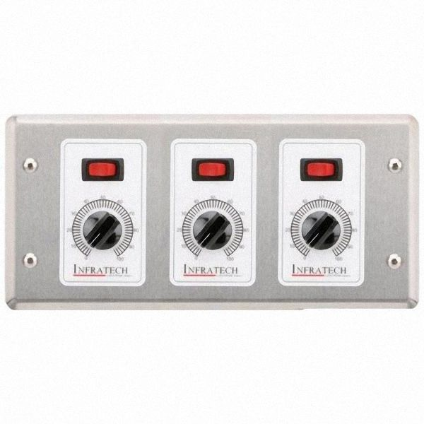 Infratech 3-Zone Remote Analog Control image number 0